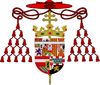 Coat of Arms of the infante Ferdinand of Spain, Cardinal and Archbishop of Toledo.png