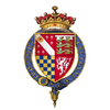 Coat of arms of Sir Thomas Howard, 2nd Earl of Surrey, KG.png