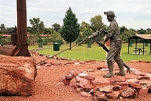 Cobar - Image: Cobar statue