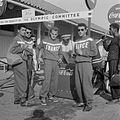 Coca Cola drinkende deelnemers Olympische Spelen (1952).jpg