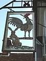 Cock and Rabbit Inn Sign - geograph.org.uk - 167611.jpg