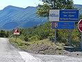Col de la Pigière, panneaux département des Alpes de Haute-Provence, région Provence Alpes Côte d'Azur.jpg