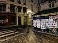 Collage Gabriel Matzneff, place Saint-André-des-Arts, Paris 6e.jpg