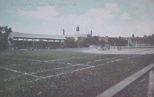 Cameron Stadium - An early view of College Park