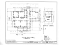Colonel McNeal House, Union and Bills Streets, Bolivar, Hardeman County, TN HABS TENN,35-BOL,1- (sheet 1 of 16).png