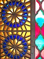 Colored Glass Window Design - Arg-e Karim Khan Citadel - Shiraz - Western Iran (7426411566) (2).jpg