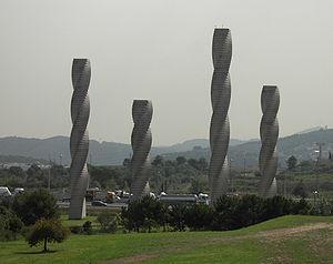 Autonomous University of Barcelona - The UAB Columns, monument of the university