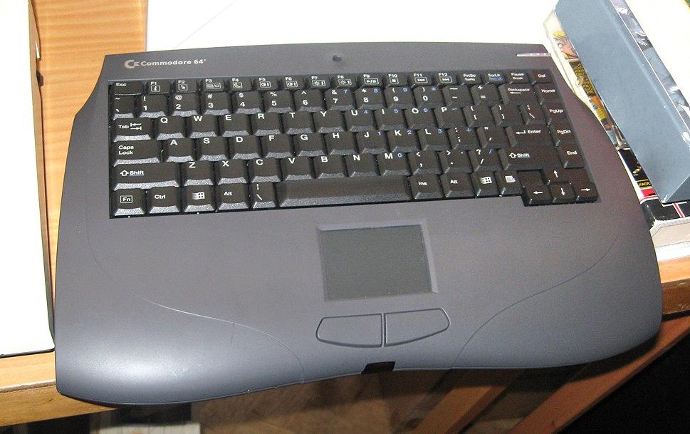 Commodore 64 Web-it PC (modified)
