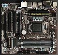 Computer motherboard µATX with Intel Socket 1150 IMGP8583 smial wp.jpg