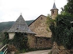 Comunidor i esglesia de Santa Cecilia. Montardit de Dalt.JPG