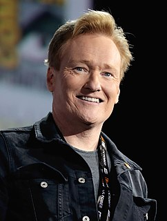 Conan OBrien American television show host and comedian