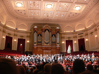 Royal Concertgebouw Orchestra - The orchestra performing in the Grote Zaal (Great Hall)