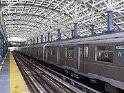 The solar-powered Coney Island-Stillwell Avenue station. (New York City Subway)