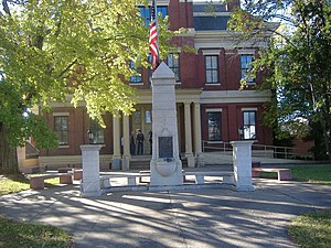 Confederate Memorial in Mayfield - Image: Confederate Memorial in Mayfield