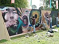 Connect 2007 - the graffiti wall - geograph.org.uk - 1304874.jpg