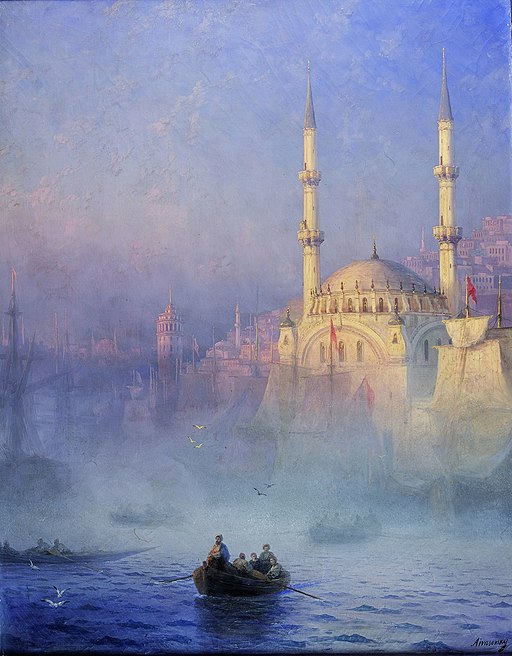 """Constantinople, Top-Kahné Mosque"" by Ivan Aivazovsky"