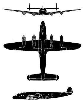 Image illustrative de l'article Lockheed L-049 Constellation