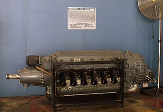 Continental XI-1430 - I-1430-9 in the National Museum of the United States Air Force