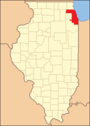 Cook County Illinois 1839