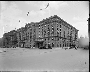 The Fairmont Copley Plaza Hotel - The hotel in 1920