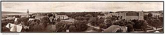 History of Cornell University - Cornell University Campus in 1919