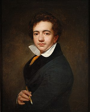 Cornelis Kruseman - Self-portrait (1812) at the age of 14/15
