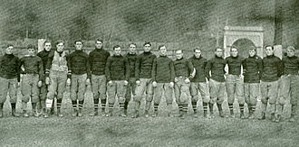 Morris S. Halliday - 1904 Cornell varsity football team: Halliday is the third from the left.