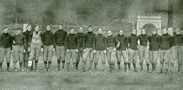 Cornell's 1904 Varsity Football Team