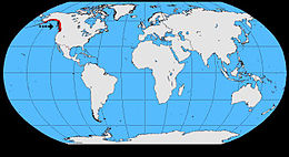 Corvus caurinus map