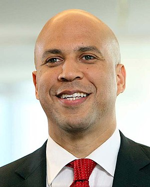 Democratic Party vice presidential candidate selection, 2016 - Image: Cory Booker, official portrait, 114th Congress