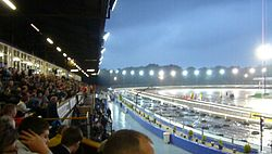 Coventry Stadium in Brandon, Coventry, UK, home of the Coventry Bees