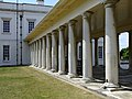 Covered walkway at Queens House Greenwich - geograph.org.uk - 2434456.jpg