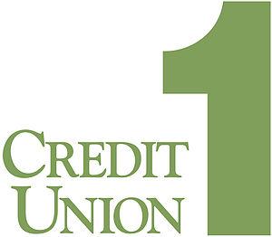 English: Logo for Credit Union 1 - Alaska