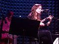 Cristin Milioti playing music.jpg