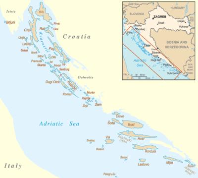 List of islands of Croatia  Wikipedia