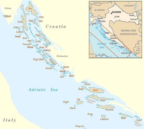 Ferries To Croatian Islands