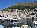 Croatie Dubrovnic Vieux Port - panoramio.jpg