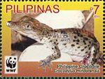 Crocodylus mindorensis 2011 stamp of the Philippines.jpg