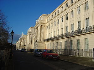 Regency architecture - Cumberland Terrace, London, John Nash
