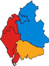 CumbriaParliamentaryConstituency2010Results.svg