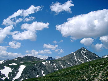 Cumulus mountain