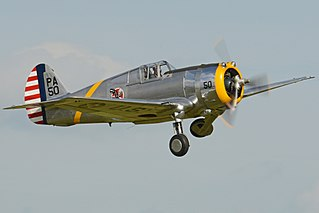 Curtiss P-36 Hawk 1935 fighter aircraft family by Curtiss; exported widely, most prominently to the French Air Force at the start of World War II