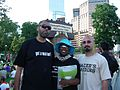 Cynthia McKinney 2008 at rally in Denver on day before 2008 DNC (2795648566).jpg