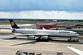 D-AIFC A340-313X Lufthansa (Halifax & Gander) FRA 30JUL05 (5920824561).jpg