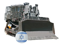 IDF Caterpillar D9 armored bulldozer