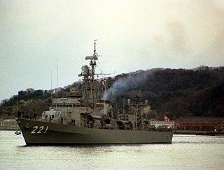 JDS <i>Niyodo</i> Chikugo-class destroyer escort