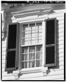 DETAIL- SECOND FLOOR FRONT WINDOW - Gibbes House, 64 South Battery Street, Charleston, Charleston County, SC HABS SC,10-CHAR,316-6.tif