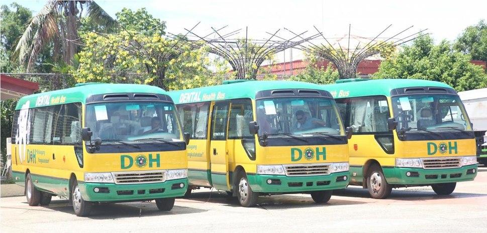DOH Dental Buses in Palawan