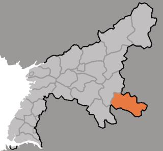 Yangdok County County in South Pyŏngan, North Korea