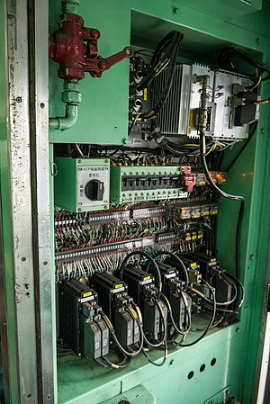 Automatic train protection - ATP switchboard in a Taiwan Railways Administration DR2700 series carriage
